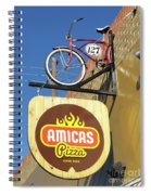 Amicas Pizza Spiral Notebook