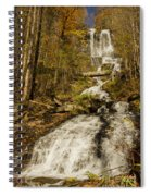 Amicola Falls Gushing Spiral Notebook