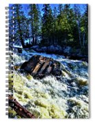 Amincon River Rootbeer Falls Spiral Notebook