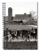 Amish Agriculture  Spiral Notebook