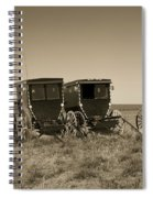 Amish Buggies Spiral Notebook