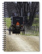 Amish Buggy March 2016 Spiral Notebook