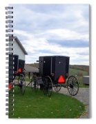 Amish Country Carts Autumn Spiral Notebook