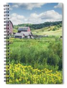 Amish Country Farm Warrens Spiral Notebook