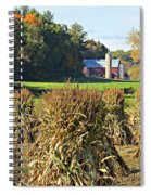 Amish Farm Country Fall Spiral Notebook