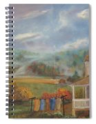 Amish Farm Spiral Notebook