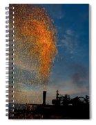Amish Fireworks Spiral Notebook