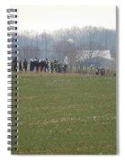 Amish Friends Gather Spiral Notebook