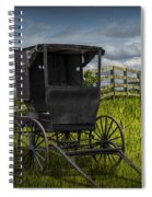 Amish Horse Buggy Spiral Notebook