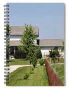 Amish House Spiral Notebook