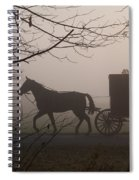 Amish Morning 1 Spiral Notebook