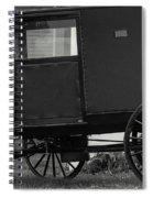 Amish Wagon _pa Spiral Notebook