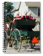 Amish Women Spiral Notebook