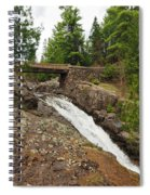 Amity Creek Falls Spiral Notebook