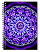 Ammersee Cropcircle Lightmandala Morph Spiral Notebook