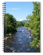 Ammonoosuc River Spiral Notebook