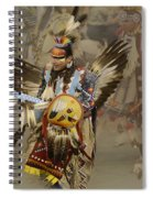 Pow Wow Among Friends Spiral Notebook
