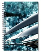 Among Giants Spiral Notebook