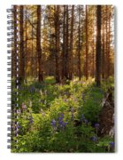 Among The Lupines Spiral Notebook