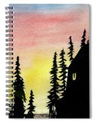 Among The Pines Spiral Notebook