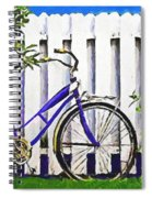 Among The Roses Spiral Notebook