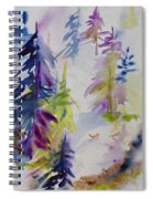 Among The Trees Spiral Notebook