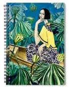 Among The Withered Lotus  Spiral Notebook