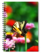 Amongst The Flowers Spiral Notebook