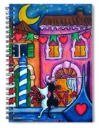 Amore In Venice Spiral Notebook
