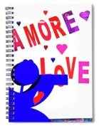 Amore Love Spiral Notebook