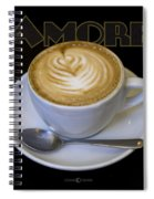 Amore Poster Spiral Notebook