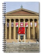 Amore - The Philadelphia Museum Of Art Spiral Notebook