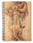 Amorous Peasants Spiral Notebook