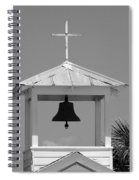 Amory Memorial Chapel Boca Grande Fl Spiral Notebook