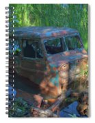 Amphibious Vehicle Spiral Notebook