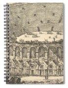 Amphitheater Of Verona Spiral Notebook