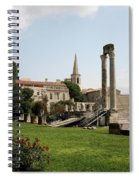 Amphitheater Ruins - Arles - France Spiral Notebook