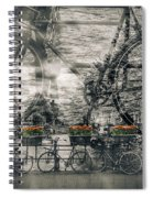 Amsterdam Bicycle Nostalgia Spiral Notebook