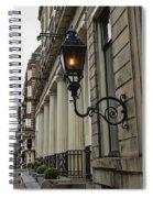 Amsterdam Carriage Light Spiral Notebook