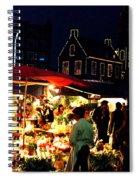Amsterdam Flower Market Spiral Notebook