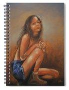 Amsterdam Girl Spiral Notebook
