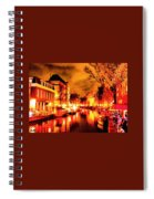Amsterdam Night Life L A S Spiral Notebook