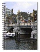 Amsterdam Scene Spiral Notebook