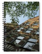 Amsterdam Spring - Fancy Brickwork Glow - Right Horizontal Spiral Notebook