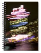 Amsterdam The Netherlands A'dam Tower Abstract At Night. Spiral Notebook