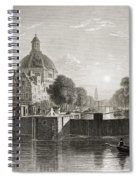 Amsterdam, View On The Singel. From The Spiral Notebook