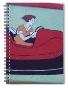 Amusement Art Asbury Park Nj Spiral Notebook