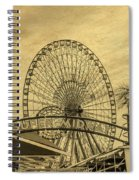 Amusement Park Vintage Spiral Notebook
