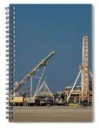 Amusement Pier And Waterpark Spiral Notebook