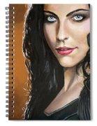 Amy Lee Spiral Notebook